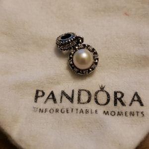 Pandora pearl charm